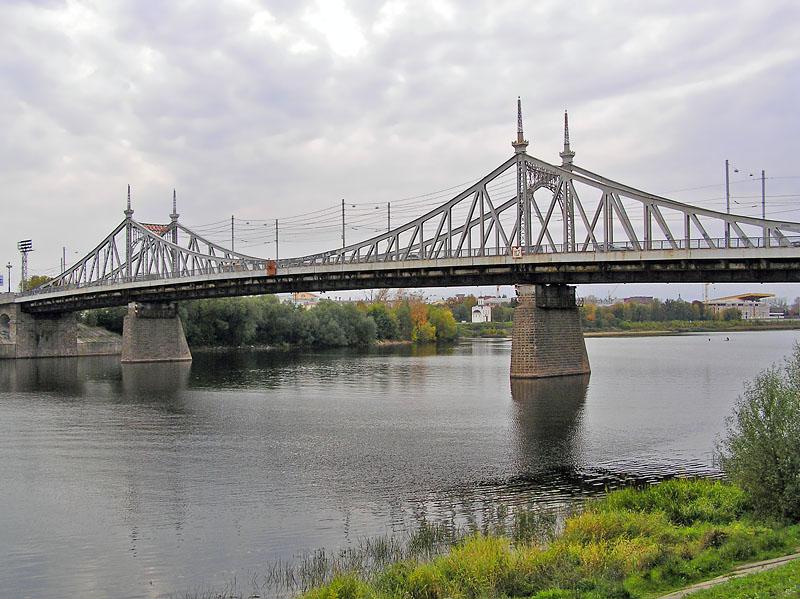 Старый Волжский мост