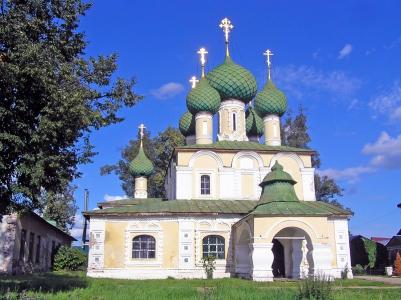 Храм Иоанна Предтечи Алексеевского монастыря